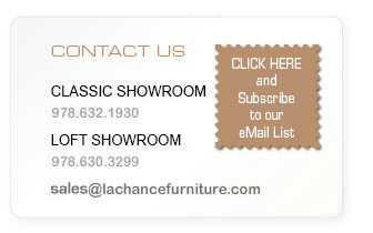 Contact Us: Main Showroom: 978.632.1930 -  Broadway Store: 978.630.3299