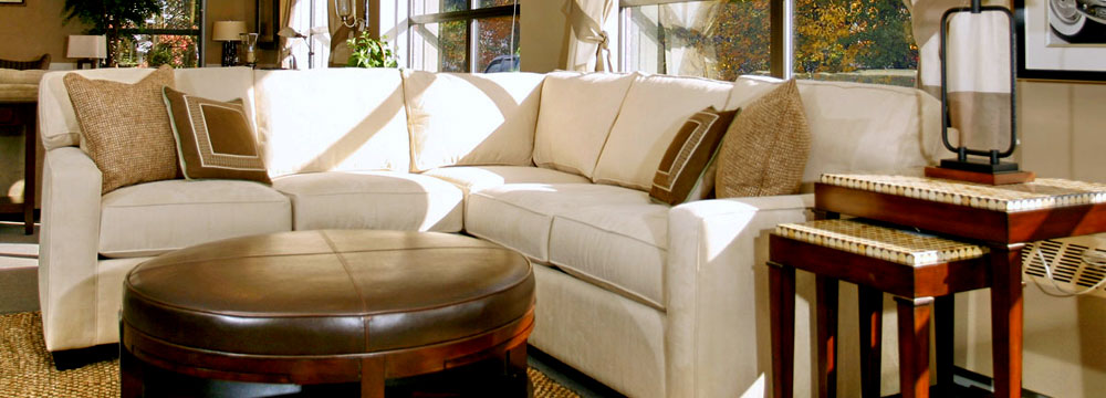 White Couch in Livingroom